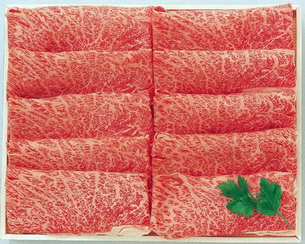 阿部牛肉加工 白老牛肩ロースすき焼用 約400g 【冷凍商品】
