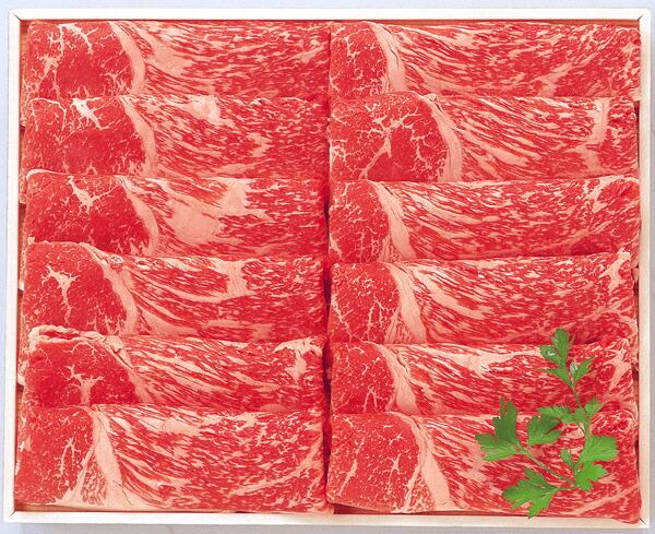 阿部牛肉加工 白老牛モモすき焼用 約400g 【冷凍商品】