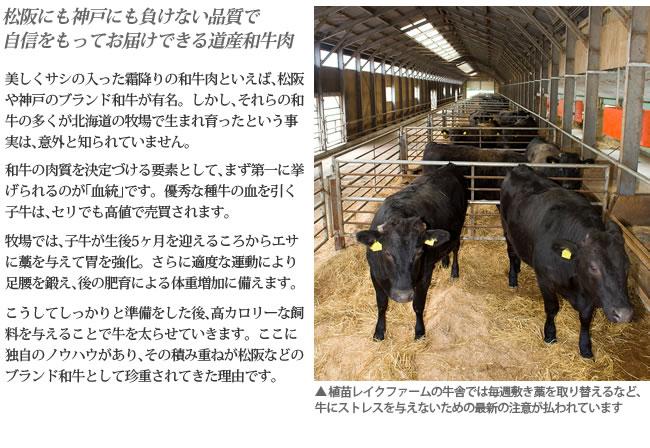植苗レイクファーム 植苗和牛