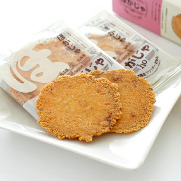 山口油屋福太郎 北海道フリッターおせん ほがじゃ チーズ 2枚×8袋入