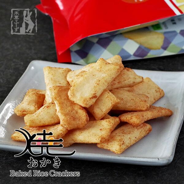 北海道米菓フーズ 焼おかき(リッチコンソメ味)100g