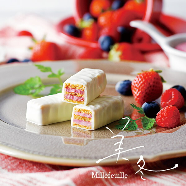 ISHIYA (石屋製菓) 美冬 (みふゆ) 3種のベリーとチーズ