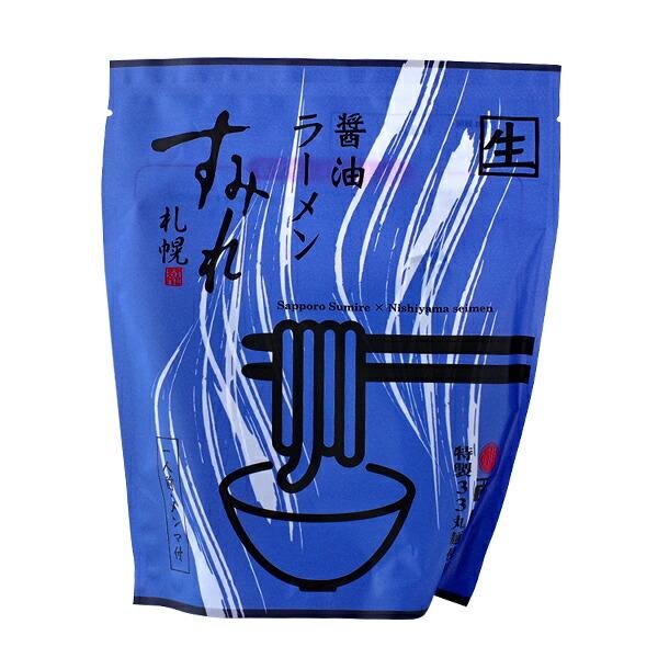 札幌すみれ 醤油ラーメン 1人前メンマ付き 222g(めん120g)