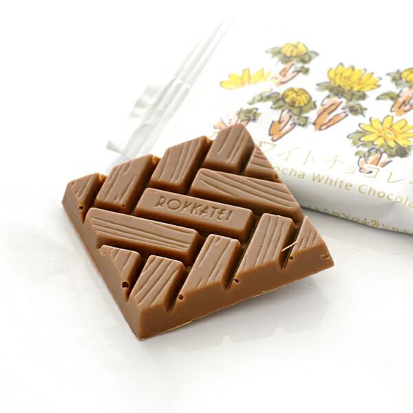 六花亭 モカホワイトチョコレート 1枚 20g