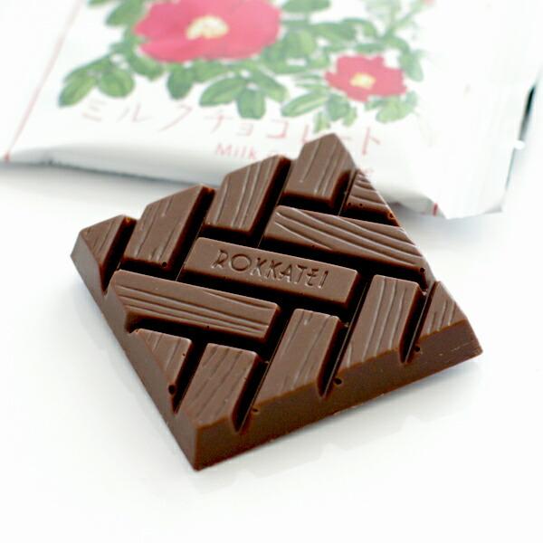 六花亭 ミルクチョコレート 1枚 20g