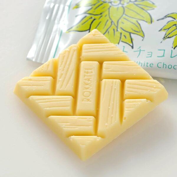 六花亭 ホワイトチョコレート 1枚 20g