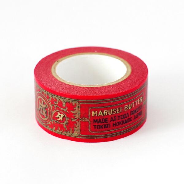 六花亭 マルセイラベルマスキングテープ 1巻(10m)