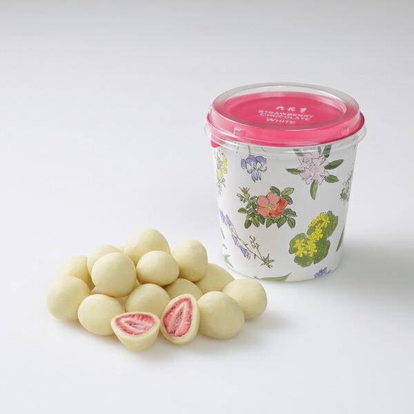 六花亭 ストロベリーチョコ ホワイト 130g
