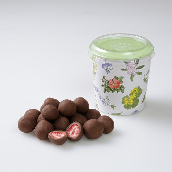 六花亭 ストロベリーチョコ ミルク 130g