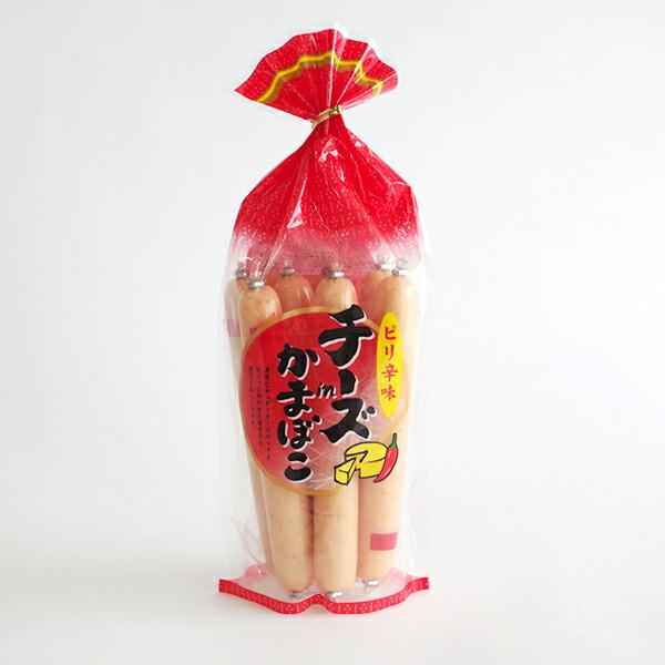 メイホク チーズinかまぼこ(ピり辛味) 272g(34g×8本入)