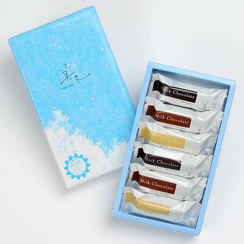 石屋製菓 美冬(みふゆ) 6個入(ブルーベリー・キャラメル・マロン 各2個)