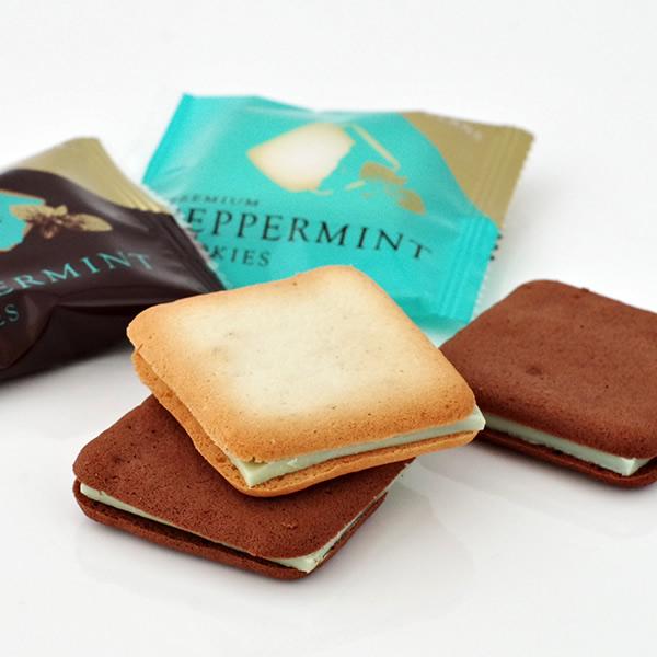 北見鈴木製菓 プレミアム ペパーミントクッキー10枚入