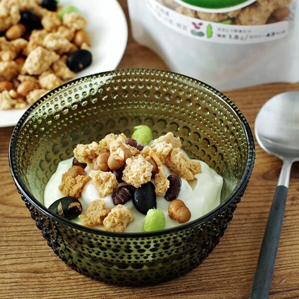 晴れcafe とかち大豆のグラノーラ(豆ミックス) 55g