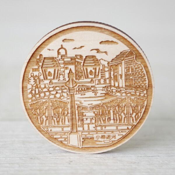 ウディマンホール 北海道小樽市マンホール【小樽運河】