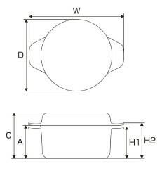 コラレット寸法図1