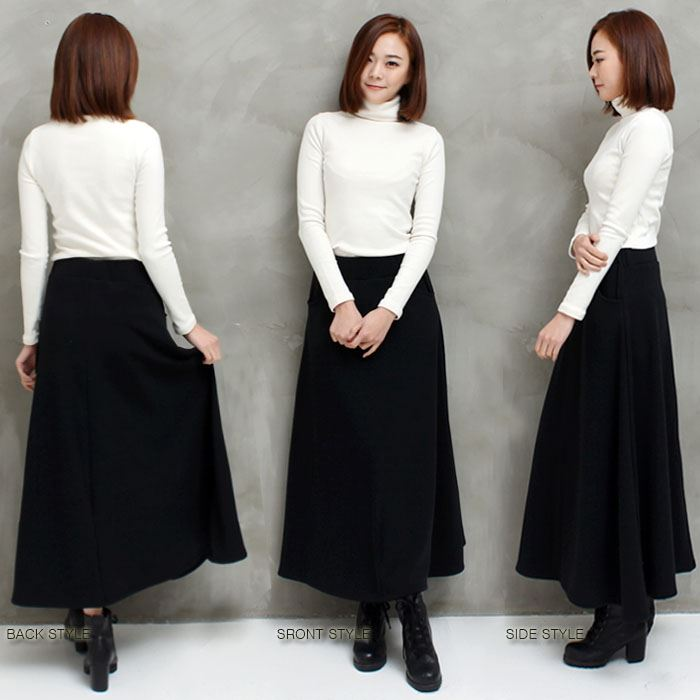 bee-es shop | Rakuten Global Market: Maxi-length circular skirt ...