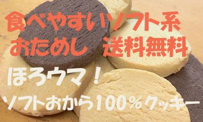 お試しソフトおから100%クッキー