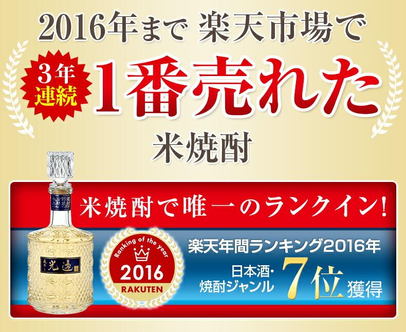 楽天年間ランキング 日本酒・焼酎ジャンル8位受賞