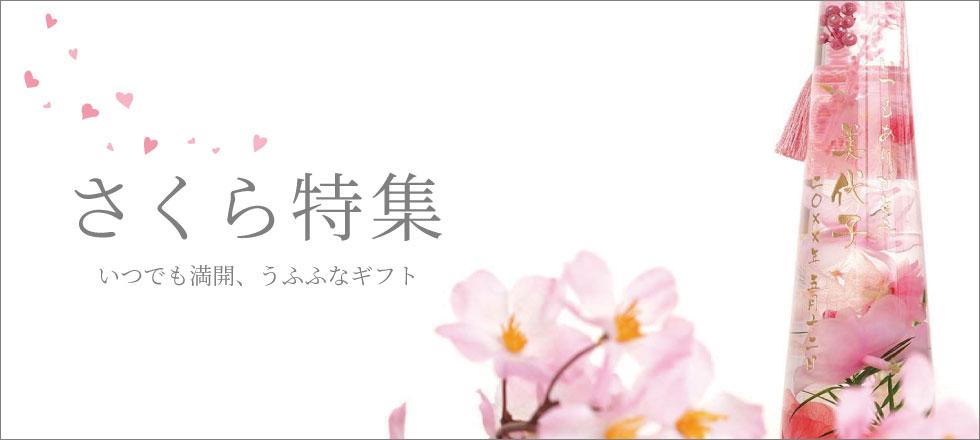 桜特集ページ