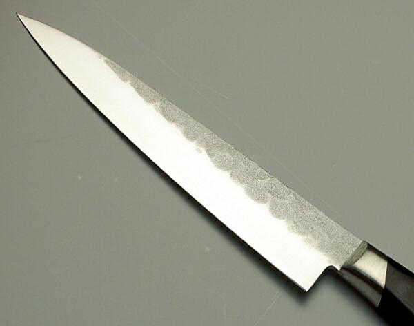 青紙鋼 槌目 ペティナイフ