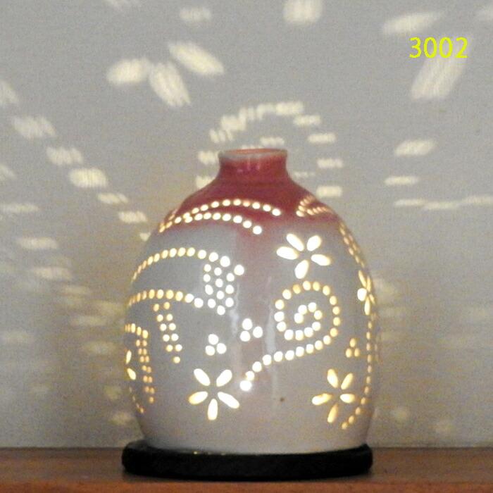 陶灯り3002