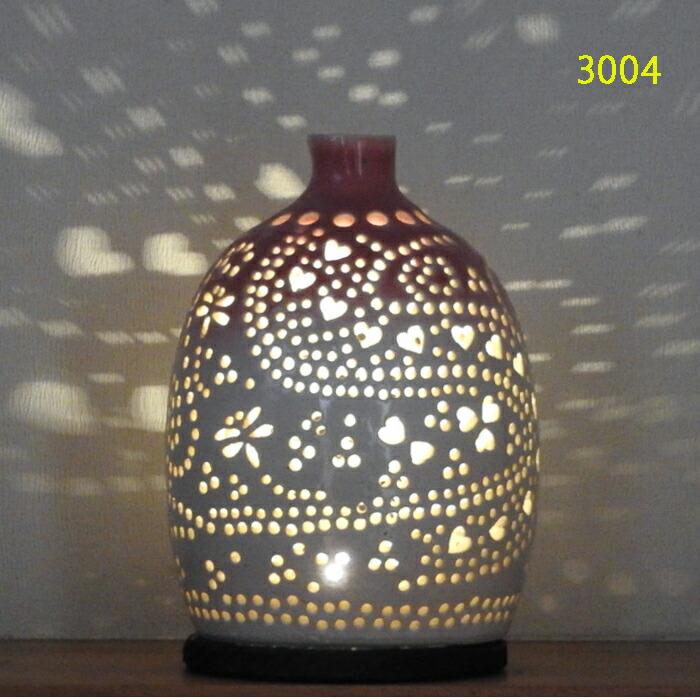 陶灯り3004