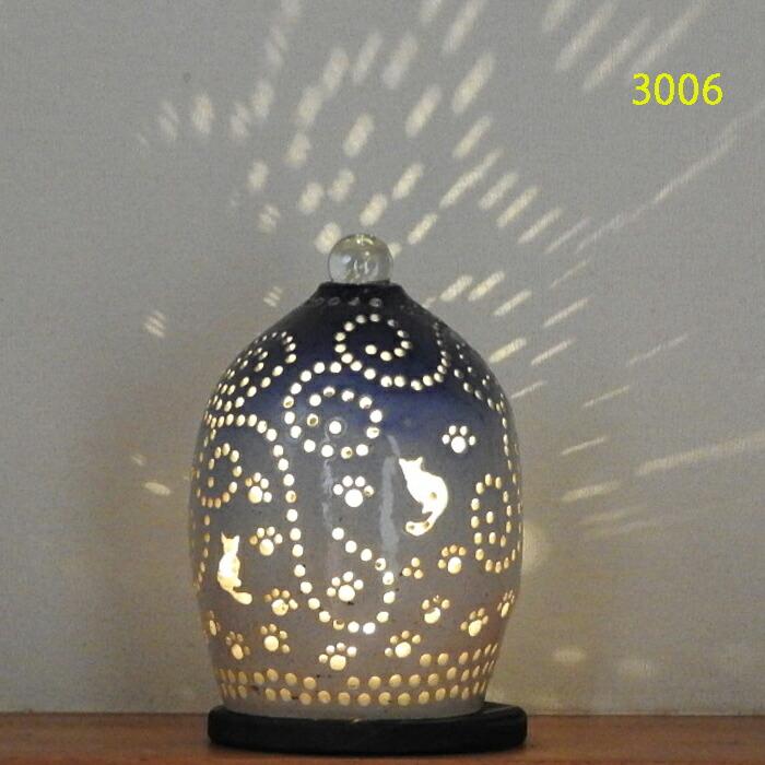 陶灯り3006