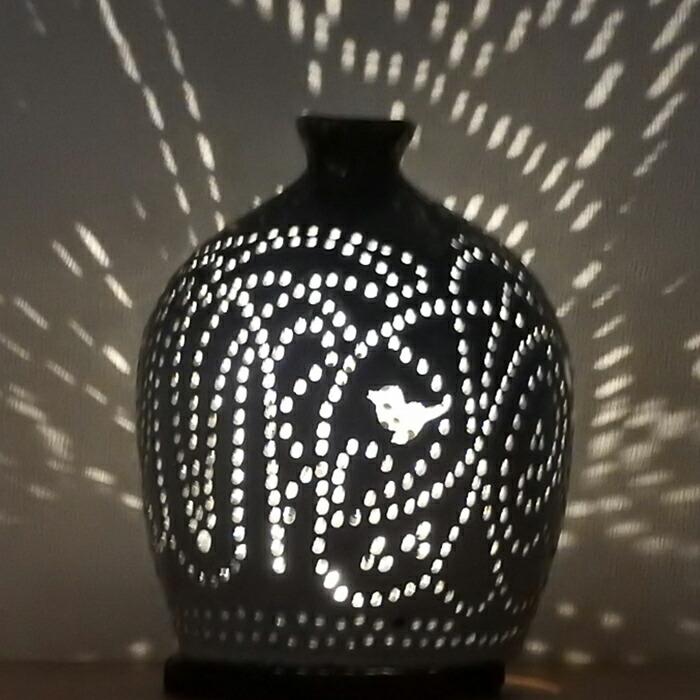 陶灯り3009