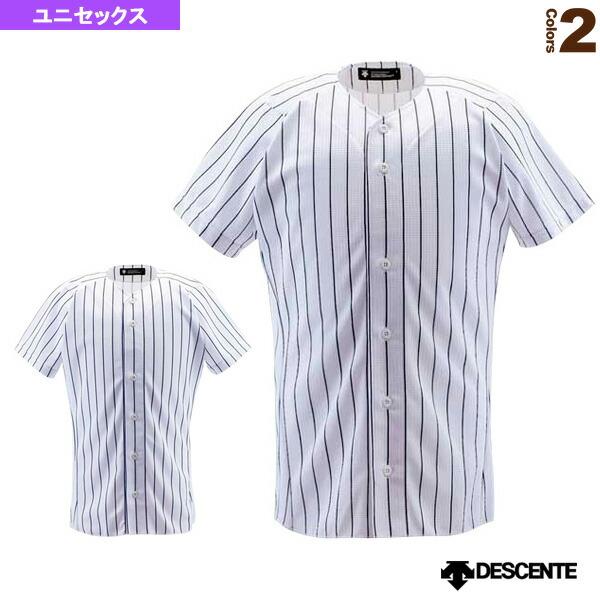 フルオープンシャツ/ピンストライプ/ユニフォームシャツ(DB-7000)