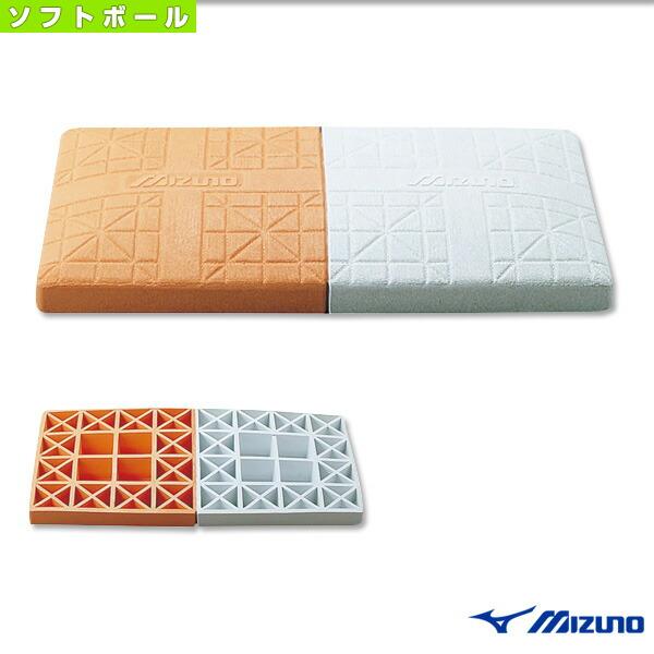 ダブルファーストベース/ソフトボール用/公式規格品/高さ8cm(16JAB15000)