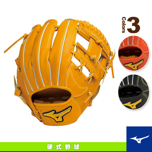 ミズノプロ スピードドライブテクノロジー/硬式・内野手(4/6)用グラブ/ポケット正面タイプ(1AJGH14023)