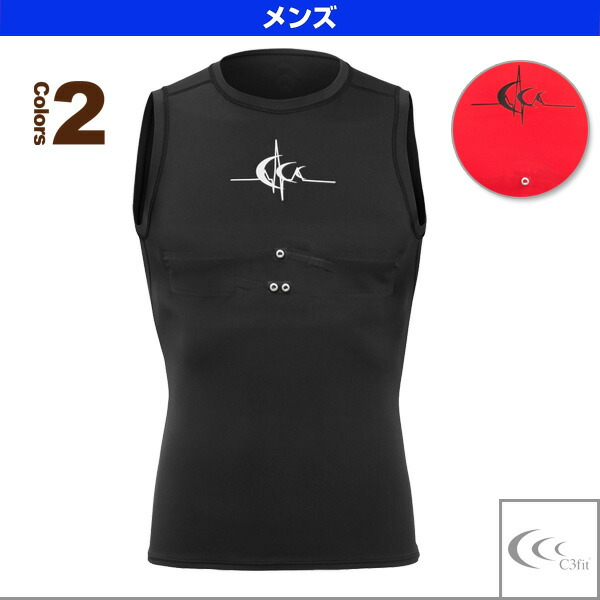 C3fit インパルススリーブレス/メンズ(3F05194)