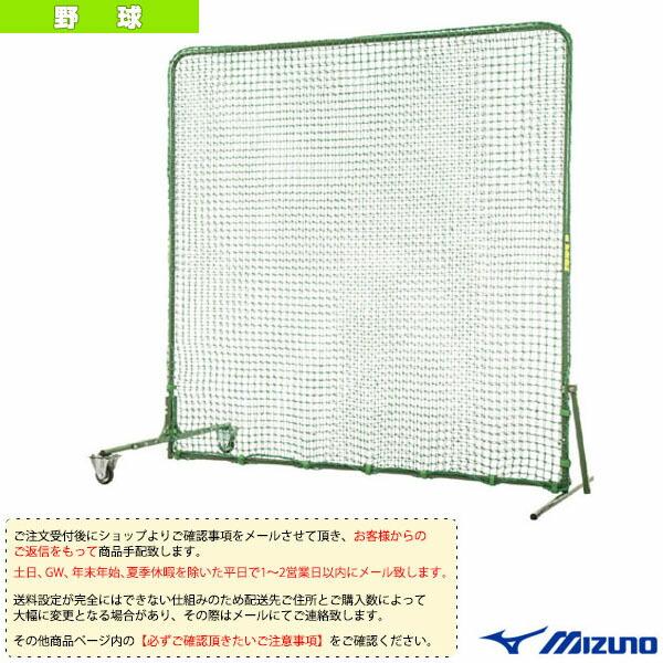 [送料お見積り]防球用ダブルネット/片側キャスター付(1GJNA20800)