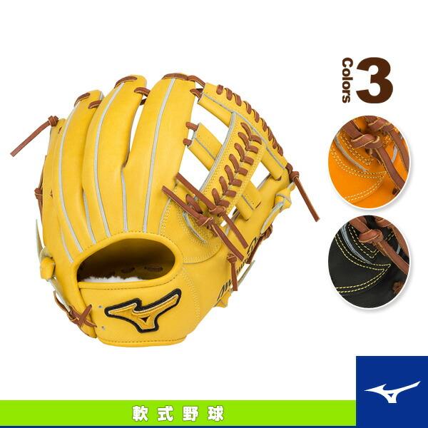 ミズノプロ フィンガーコアテクノロジー/軟式・内野手(4/6)用グラブ/ポケットウェブ下タイプ(1AJGR16023)