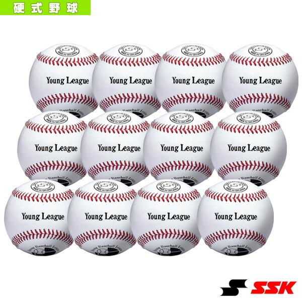 ヤングリーグ試合球『1箱12球入り』/硬式野球ボール(YL25)