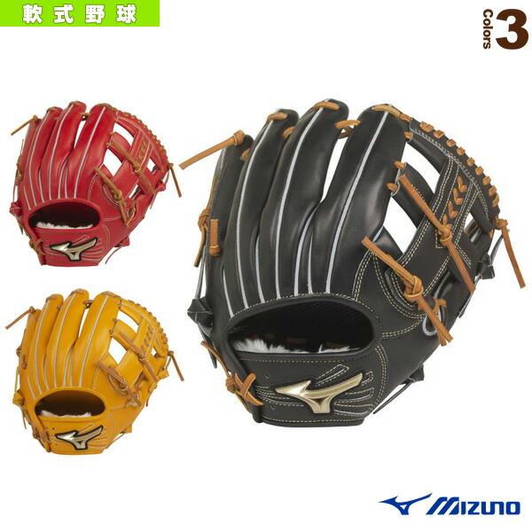 グローバルエリート H Selection 02+プラス/軟式・内野手用グラブ/ポケット正面タイプ(1AJGR22413)