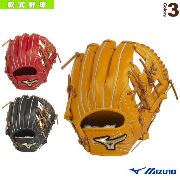 グローバルエリート H Selection 02+プラス/軟式・内野手用グラブ/ポケット正面タイプ(1AJGR22423)