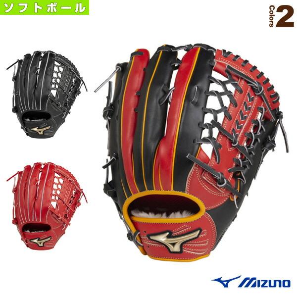 グローバルエリート H Selection 02+プラス/ソフトボール・外野手用グラブ(1AJGS22417)