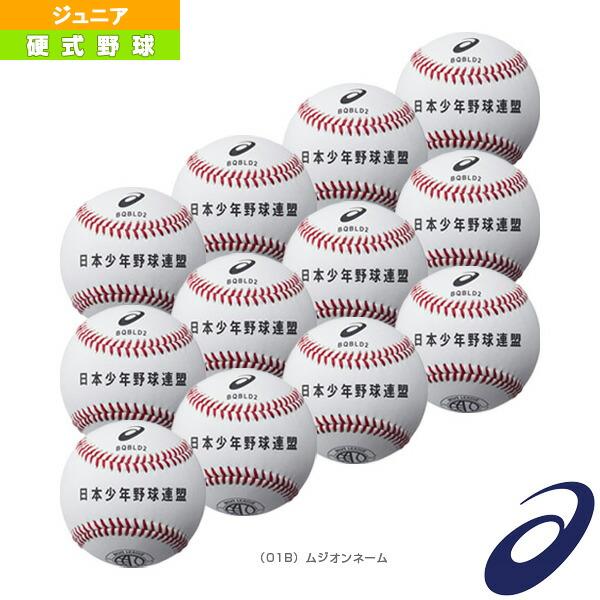 【ネーム入れ】『1ダース・12球入』硬式野球ボール/ボーイズリーグ試合用(BQBLD2)