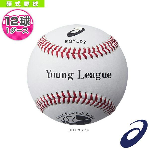 『1ダース・12球入』硬式野球ボール/ヤングリーグ試合用(BQYLD2)