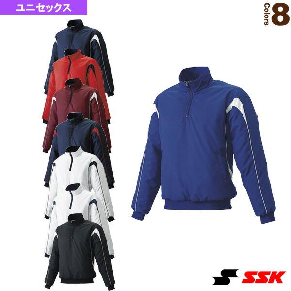 蓄熱プレジャン/ハーフZIP長袖/中綿(BWP1000)