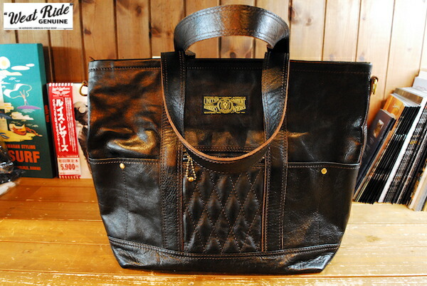 WEST RIDE/PADDED TOTE BAG