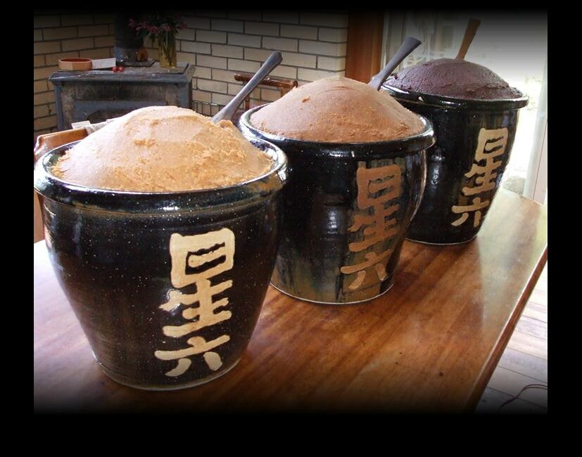 天然醸造・木桶発酵の手造り味噌