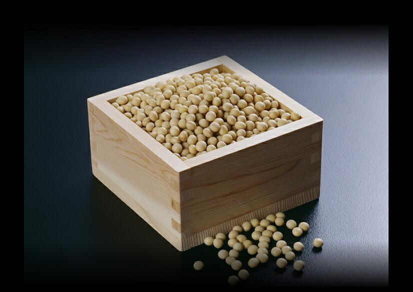 醸造の素材契約栽培大豆