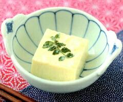 塩麹漬け豆腐