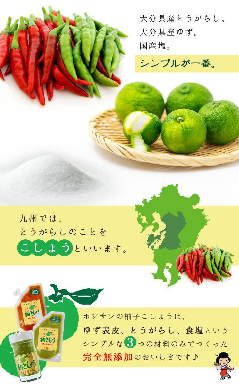 とうがらしを九州方言でこしょう