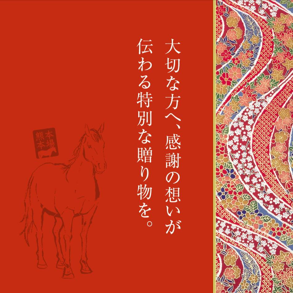 熊本県産 馬刺しセット ギフト
