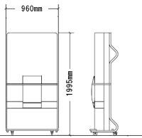 エキストラベッド(立て型)補助ベッド