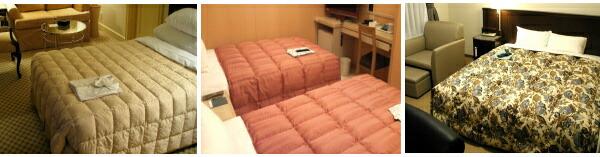 ホテル羽毛ベッドカバー(ボックスタイプ)