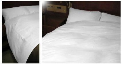 デュベスタイルのベッドカバーのお色柄